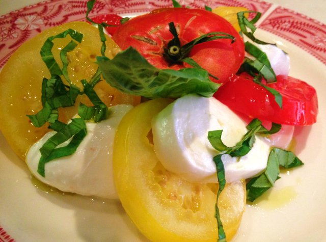 Italian Caprese Salad from Mozza Mia in Edina, Minnesota