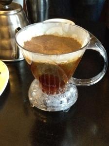 Coffee filtering process