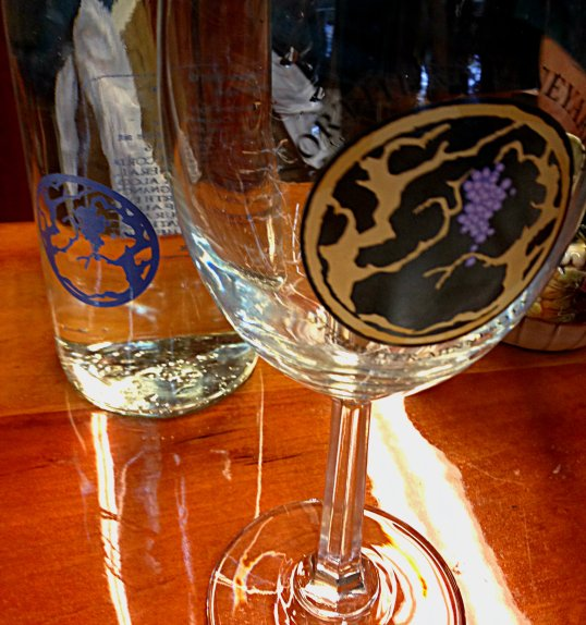 Northern Vineyards Winery wine glasses