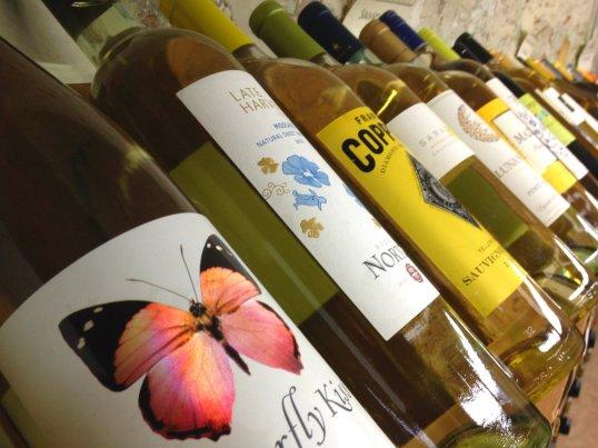 wine bottles in Stillwater, MN